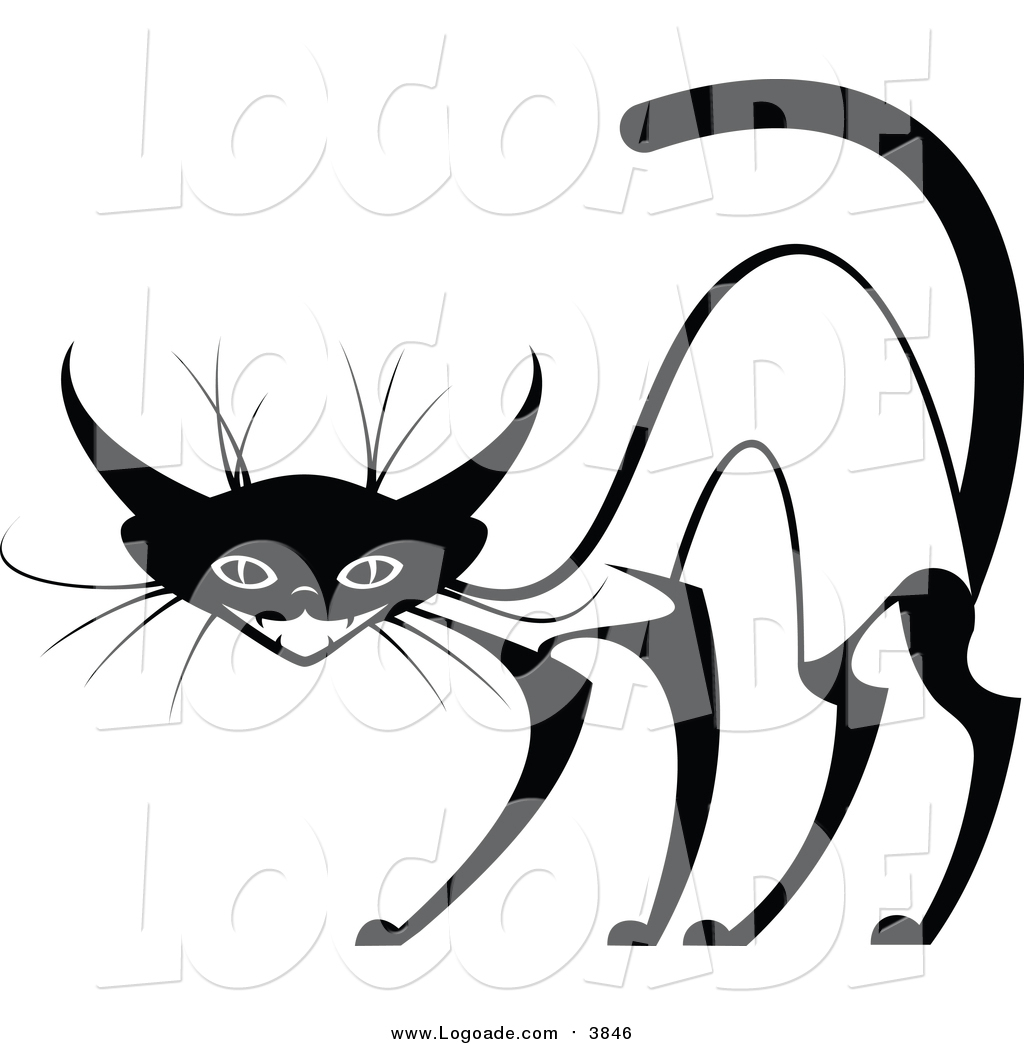 clipart of an evil siamese cat by vector tradition sm 3846 rh logoade com vector clip art images vector clip art software