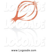 Clipart of a Garlic or Onion Logo by Cidepix