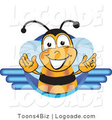Logo of a Bee Logo by Toons4Biz