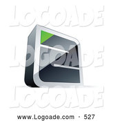 Logo of a Chrome Maze with a Green Triangle at the EndChrome Maze with a Green Triangle at the End by Beboy