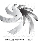 Logo of a Chrome Spiral Logo by Vectorace