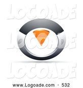 Logo of a Silver and Orange Circular Knob by Beboy
