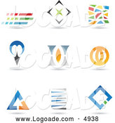 Logo of Abstract Shapes by Cidepix