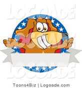 Logo of an American Dog Banner by Toons4Biz
