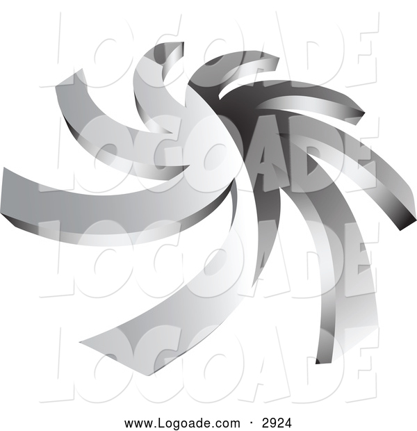 Logo of a Chrome Spiral Logo