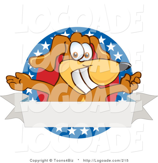 Logo of an American Dog Banner